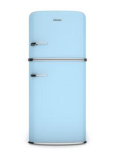 retro refrigerator.Front view